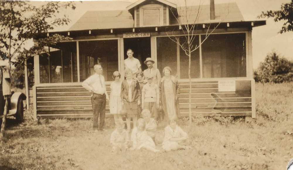 Black Family on Vacation, Circa 1925